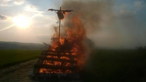 Pálení čarodějnice v Kladrubech