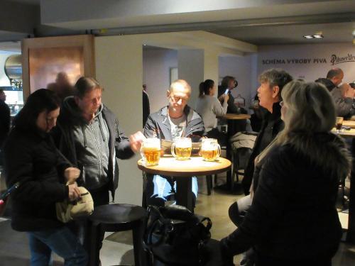 Zájezd do  pivovaru Pilsner Urquell 24.11.2018 pro občany Kladrub
