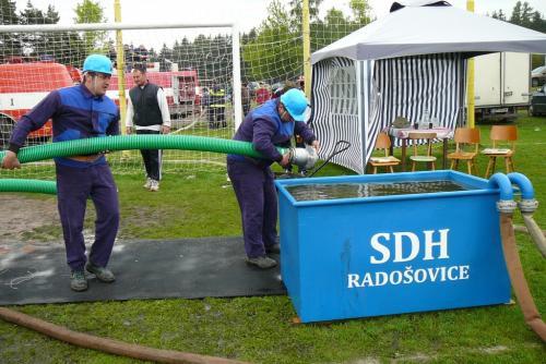 Hasičské závody - Radošovice 2010
