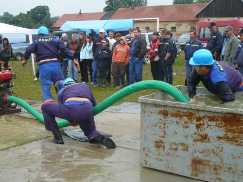 Hasičské závody - Ratajský pohár 2010